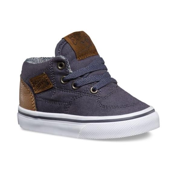 4a02c5083a Vans toddler boy half cab sneakers. M 5bdcda11df0307cb9d0579c5